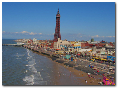 Holiday in Blackpool - England