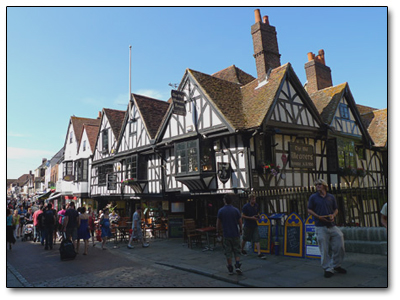 Holiday in Canterbury - England