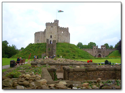 Holiday in Cardiff - England
