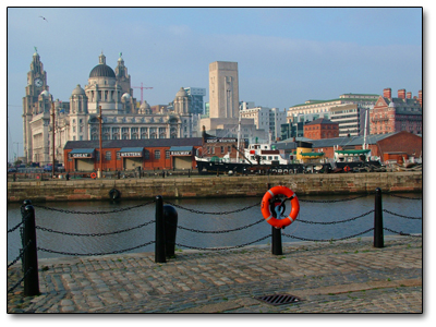 Holiday in Liverpool - England