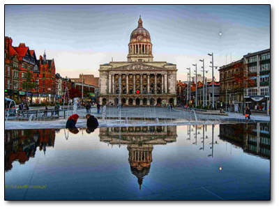 Holiday in Nottingham - England