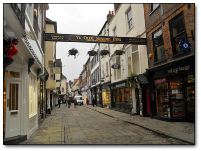 Holiday in York - England
