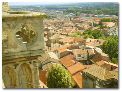 Holiday in Béziers, France
