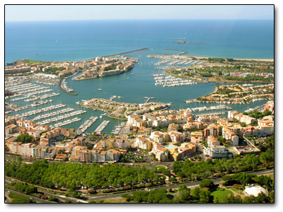 Holiday in Cap d'Agde, France