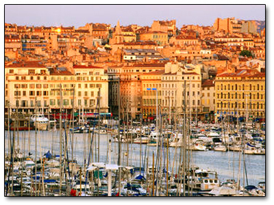Holiday in Marseille, France