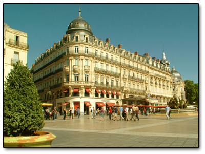 Holiday in Montpellier, France