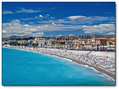 Holiday in Nice, France