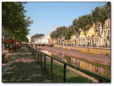 Holiday in Perpignan, France