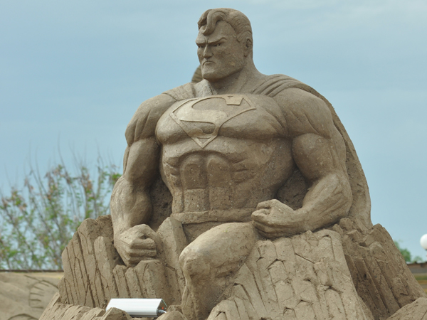 international antalya sand sculpture festival on the south coast of